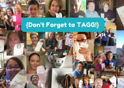 Don't Forget to TAGG!