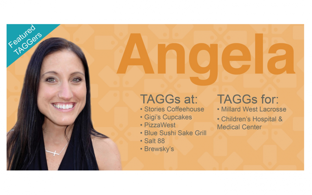 Meet our Featured TAGGer: Angela