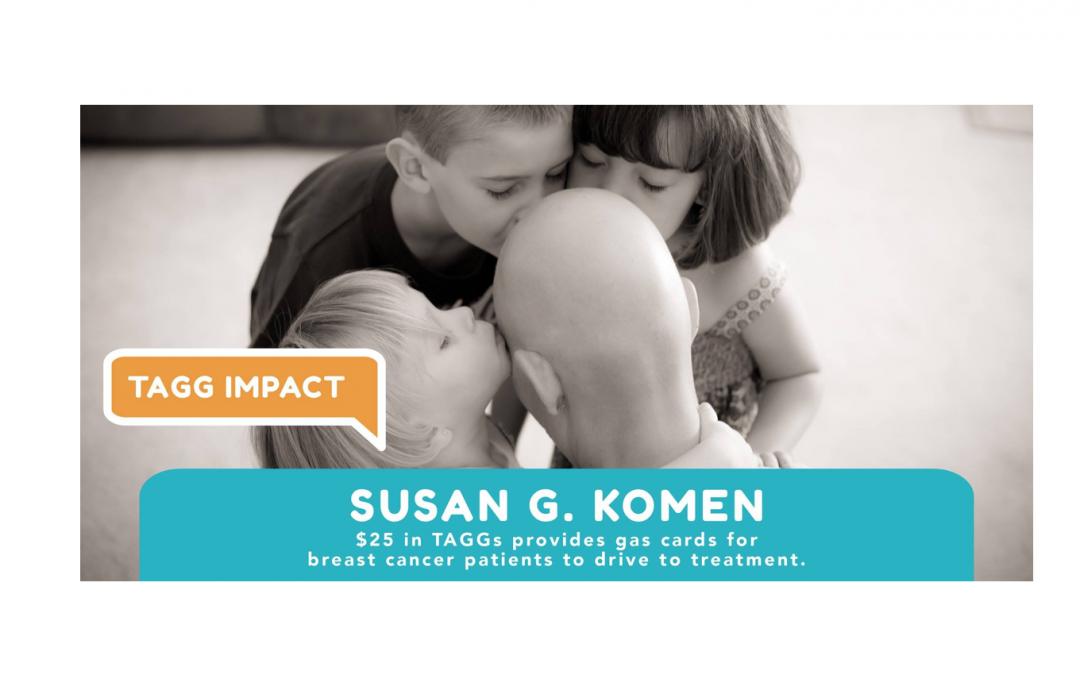 TAGG Impact: Susan G. Komen Nebraska