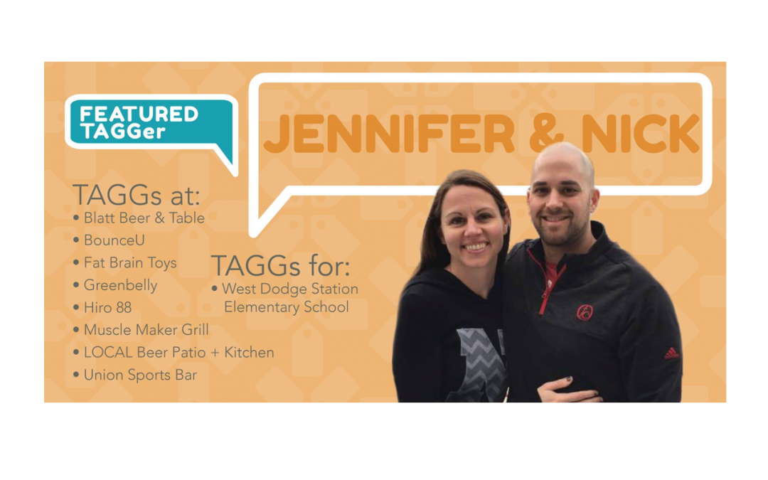 Meet Our Featured TAGGers: Jennifer and Nick