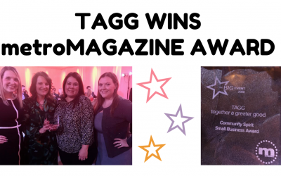 TAGG Wins metroMAGAZINE Award
