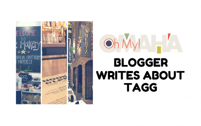 Oh My Omaha Blogger Writes About TAGG