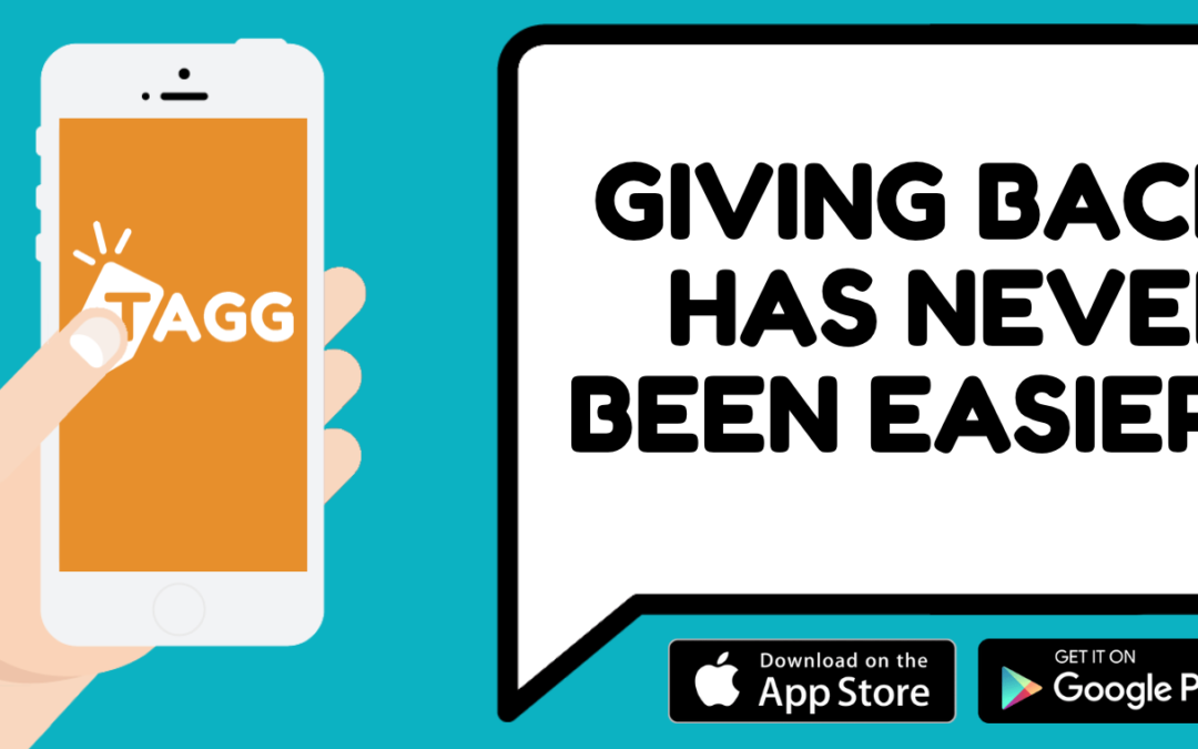 The future of giving back through an app