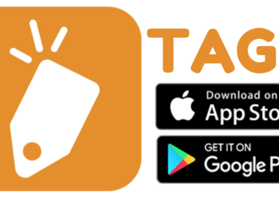 TAGG App Icon with Buttons PNG