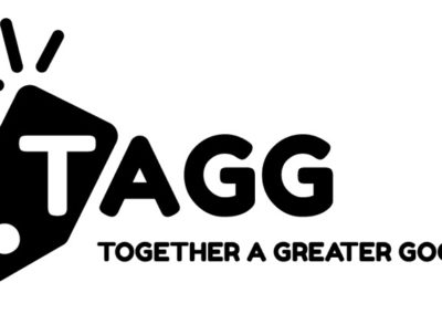 TAGG Black Logo with Tagline JPG