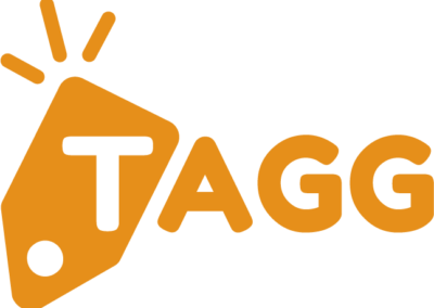 TAGG Orange Logo PNG