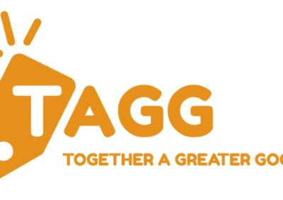 TAGG Orange Logo with Tagline JPG